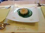 Oggi al ristorante di Giuditta risotto alla clorofilla