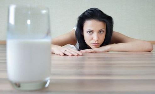 L'allergia al latte.