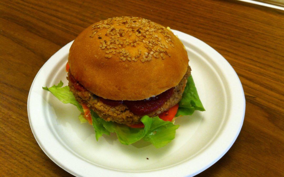 Oggi burger … si ma 100% vegetale !!