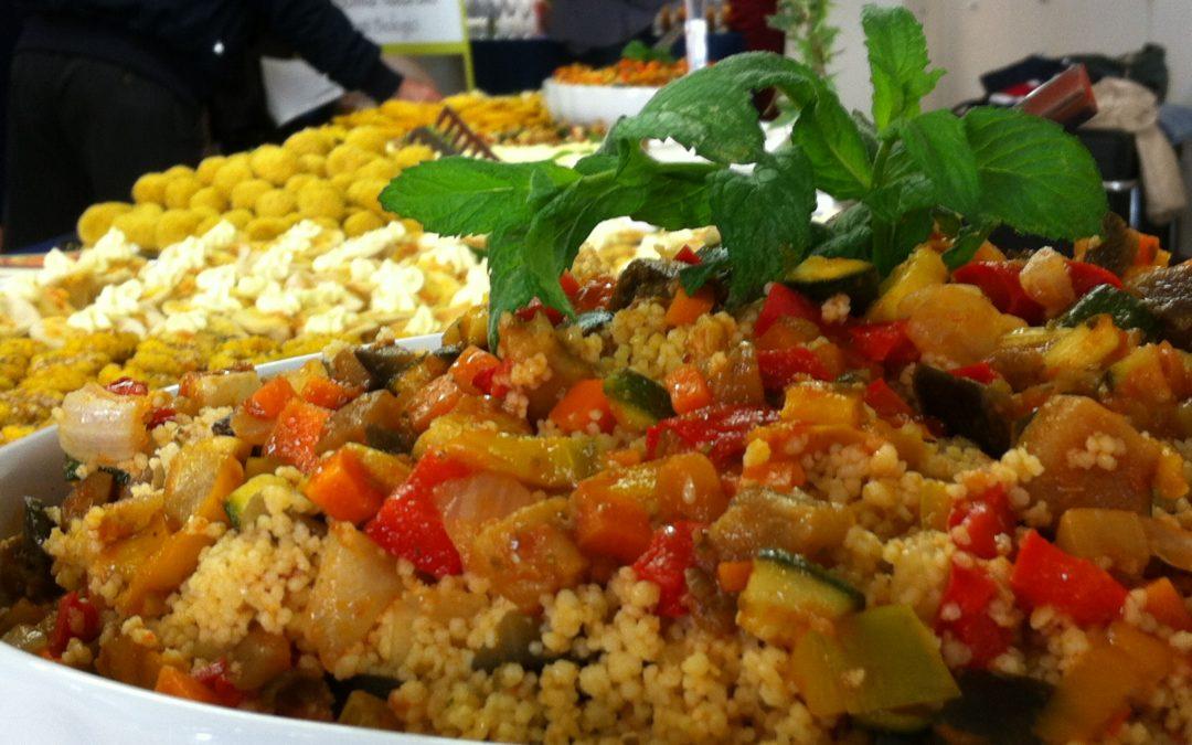 Vegan buffet alla Jaguar di Genova