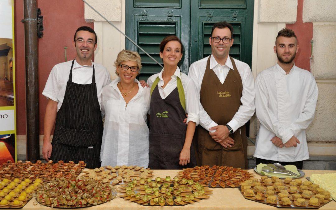 Vegan buffet a Villa Durazzo Santa Margherita Ligure
