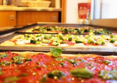 Pizza a pasta madre