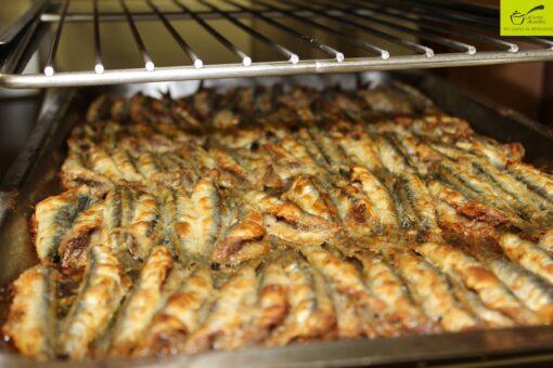 Acciughe al forno